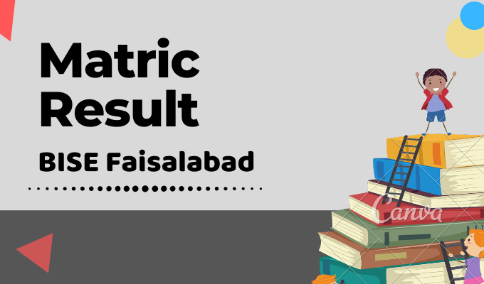BISE Faisalabad Matric Result Featured Image