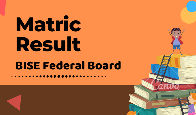 BISE Federal Board Matric Result Featured Image
