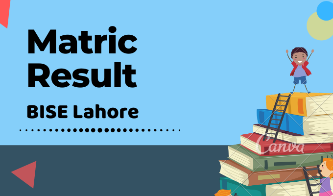 BISE Lahore Matric Result Featured Image