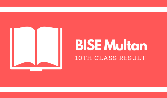 BISE Multan 10th Class Result