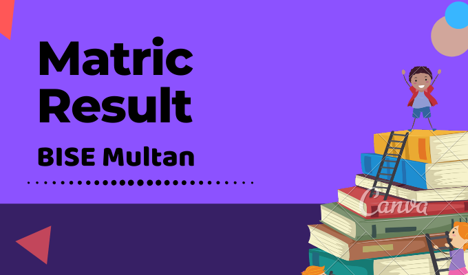 BISE Multan Matric Result Featured Image
