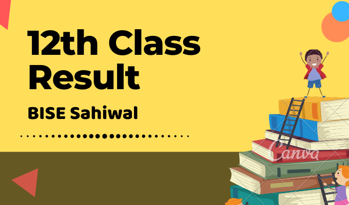 BISE Sahiwal 12th Class Result Featured Image