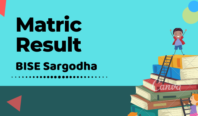 BISE Sargodha Matric Result Featured Image