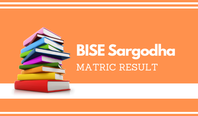 BISE Sargodha Matric Result
