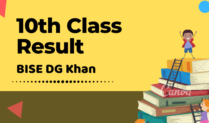BISE DG Khan 10th Class Result Featured Image