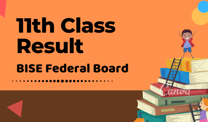 BISE Federal Board 11th Class Result Featured Image