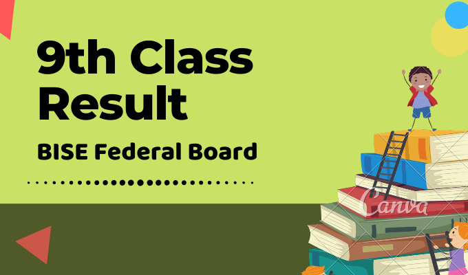 BISE Federal Board 9th Class Result Featured Image