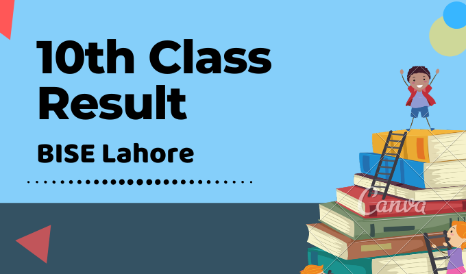 BISE Lahore 10th Class Result Featured Image