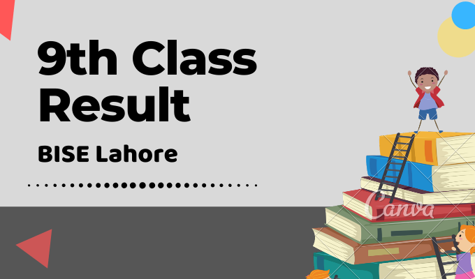 BISE Lahore 9th Class Result Featured Image