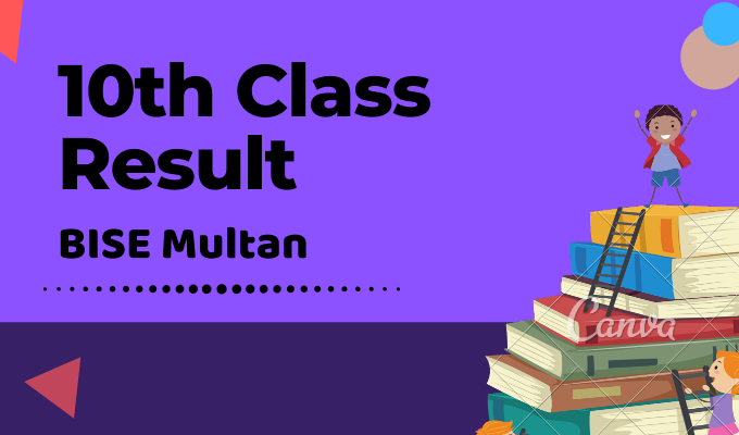 BISE Multan 10th Class Result Featured Image