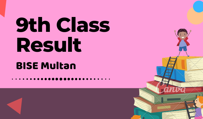 BISE Multan 9th Class Result Featured Image