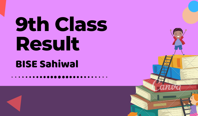 BISE Sahiwal 9th Class Result Featured Image