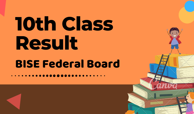 FBISE Federal Board 10th Class Result Featured Image